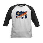 Marshall Islands Flag Kids Baseball Jersey