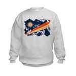 Marshall Islands Flag Kids Sweatshirt