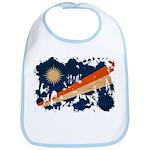 Marshall Islands Flag Bib