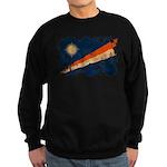 Marshall Islands Flag Sweatshirt (dark)