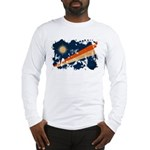 Marshall Islands Flag Long Sleeve T-Shirt