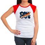 Marshall Islands Flag Women's Cap Sleeve T-Shirt