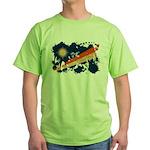 Marshall Islands Flag Green T-Shirt