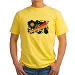 Marshall Islands Flag Yellow T-Shirt