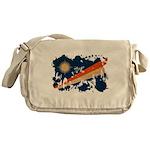Marshall Islands Flag Messenger Bag