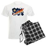 Marshall Islands Flag Men's Light Pajamas