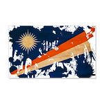 Marshall Islands Flag 22x14 Wall Peel