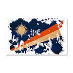 Marshall Islands Flag Car Magnet 20 x 12
