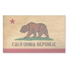 California Flag Decal