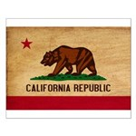 California Flag Small Poster