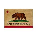 California Flag Rectangle Magnet (100 pack)
