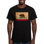 California Flag Men's Fitted T-Shirt (dark)