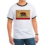 California Flag Ringer T