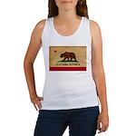 California Flag Women's Tank Top