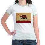 California Flag Jr. Ringer T-Shirt
