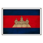 Cambodia Flag Banner