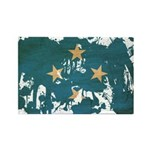 Micronesia Flag Rectangle Magnet (100 pack)