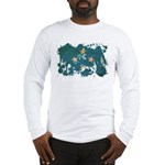 Micronesia Flag Long Sleeve T-Shirt