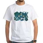 Micronesia Flag White T-Shirt