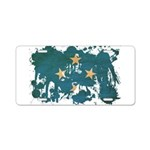 Micronesia Flag Aluminum License Plate