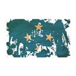 Micronesia Flag 38.5 x 24.5 Wall Peel