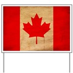 Canada Flag Yard Sign