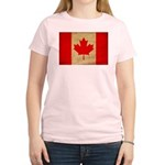 Canada Flag Women's Light T-Shirt