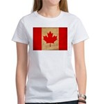 Canada Flag Women's T-Shirt