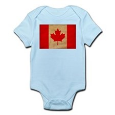 Canada Flag Infant Bodysuit