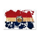 Missouri Flag Car Magnet 20 x 12
