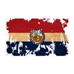 Missouri Flag 38.5 x 24.5 Wall Peel
