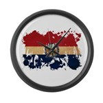 Missouri Flag Large Wall Clock
