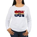 Missouri Flag Women's Long Sleeve T-Shirt