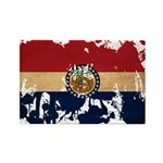 Missouri Flag Rectangle Magnet (100 pack)