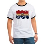 Missouri Flag Ringer T