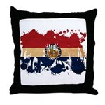 Missouri Flag Throw Pillow