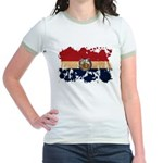 Missouri Flag Jr. Ringer T-Shirt