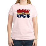 Missouri Flag Women's Light T-Shirt