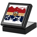 Missouri Flag Keepsake Box