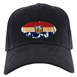 Missouri Flag Black Cap