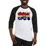 Missouri Flag Baseball Jersey