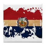 Missouri Flag Tile Coaster
