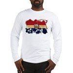 Missouri Flag Long Sleeve T-Shirt