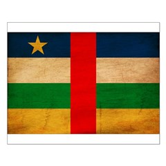 Central African Republic Flag Small Poster