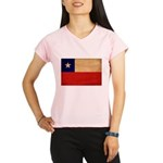 Chile Flag Performance Dry T-Shirt