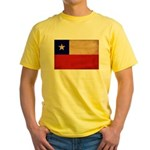 Chile Flag Yellow T-Shirt
