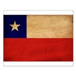 Chile Flag Small Poster