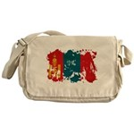Mongolia Flag Messenger Bag