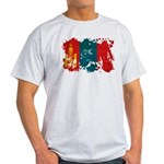 Mongolia Flag Light T-Shirt