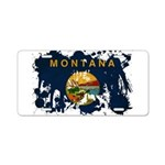 Montana Flag Aluminum License Plate